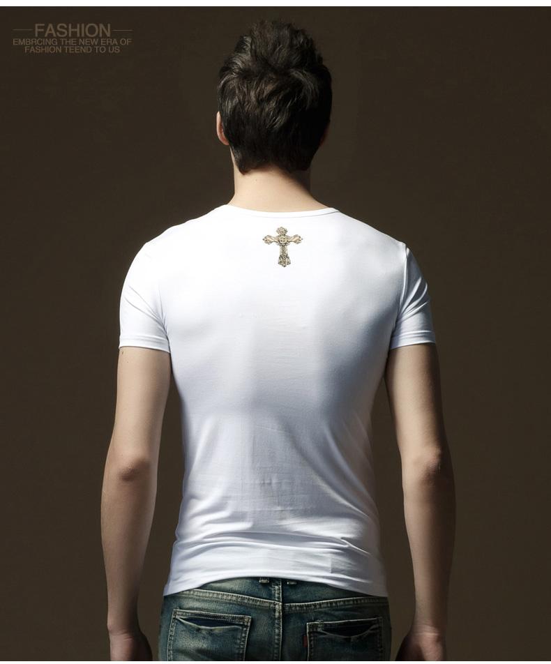 男士短袖设计图展示